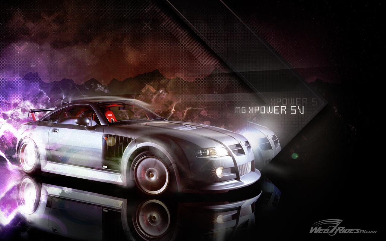 WebRidesTv MG XPower SV