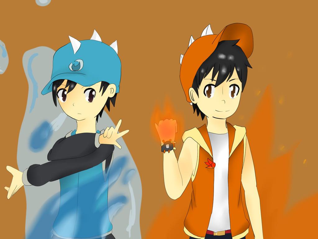 Boboiboy Boboiboy Fire Boboiboy Api Anime Boboiboy T