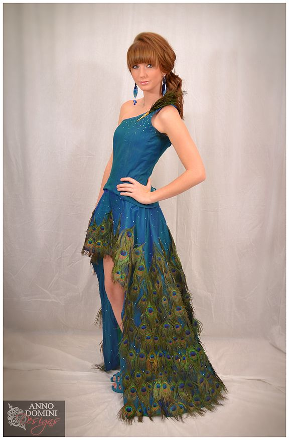 Peacock Gown By Knightshayde On Deviantart