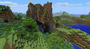 Minecraft Landscape by Mr3ch0