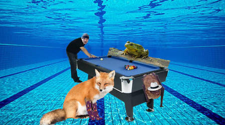 a friendly game of Pool