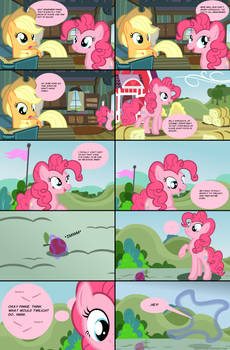 Pinkie Pie And The Magic Apple