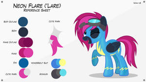 Lare (Wonderbolt Suit) - Reference Sheet (1.0)