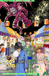 Death note summer festival by meomeoow