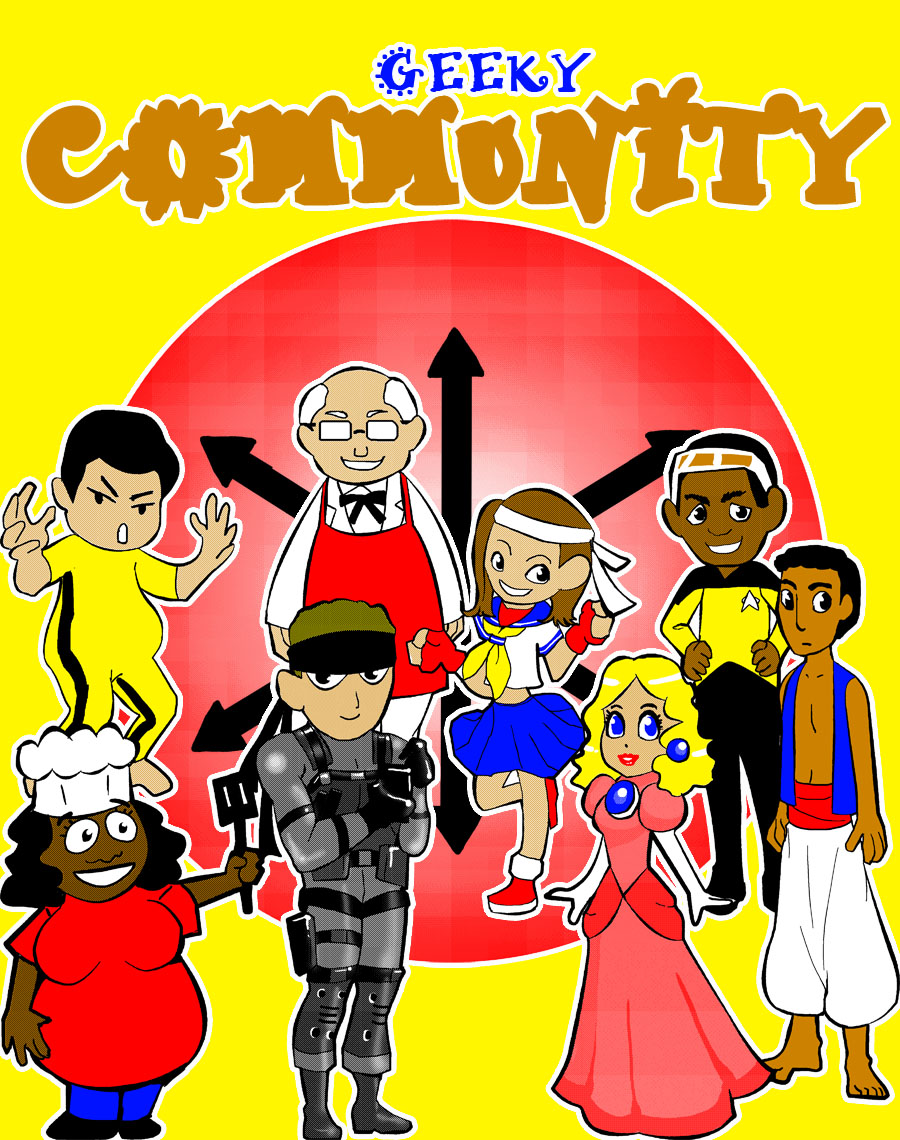 geeky community by meomeoow