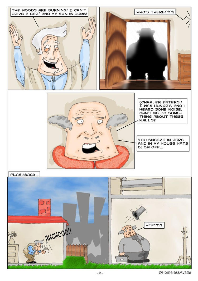 Death of a Salesman - page 2 by HomelessAvatar on DeviantArt