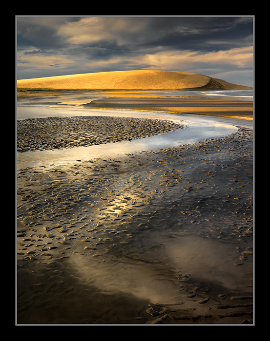 Monochrome Coast by michaelanderson