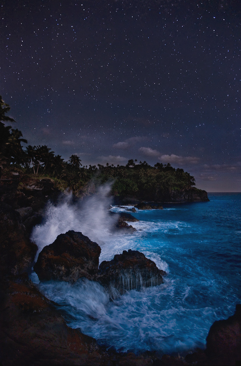 Pacific Midnight by michaelanderson