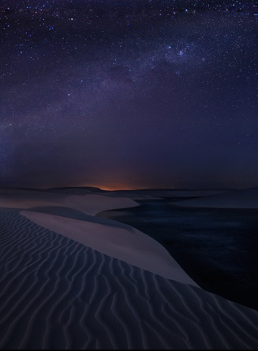 Starlight Dunes by michaelanderson