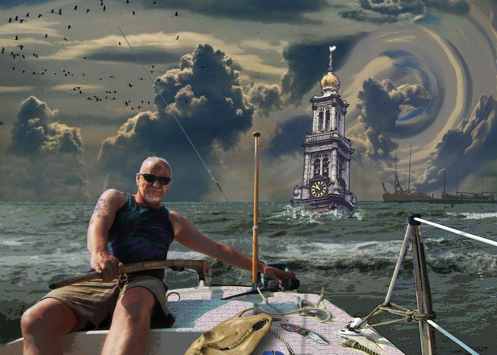 Sunken Amsterdam 2069 by taisteng