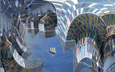 Sailing to Metropolis ziltpunk by taisteng