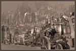 Huy Jorsaleem, steampunk city
