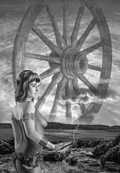 Wheel of Lugh with lady Miir by taisteng