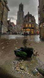 Utrecht at low tide by taisteng