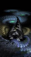Night Land: crashed starship