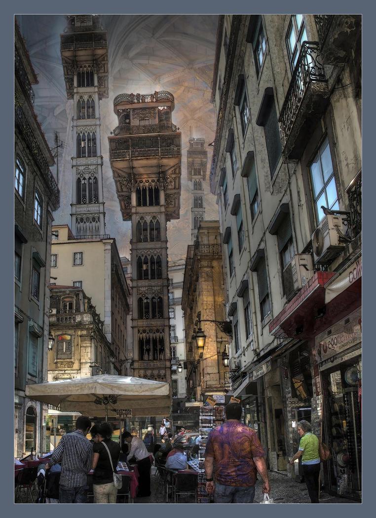 Lisbon Steampunk by taisteng