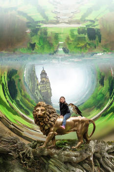 The girl who rode Aslan all the way to Faery