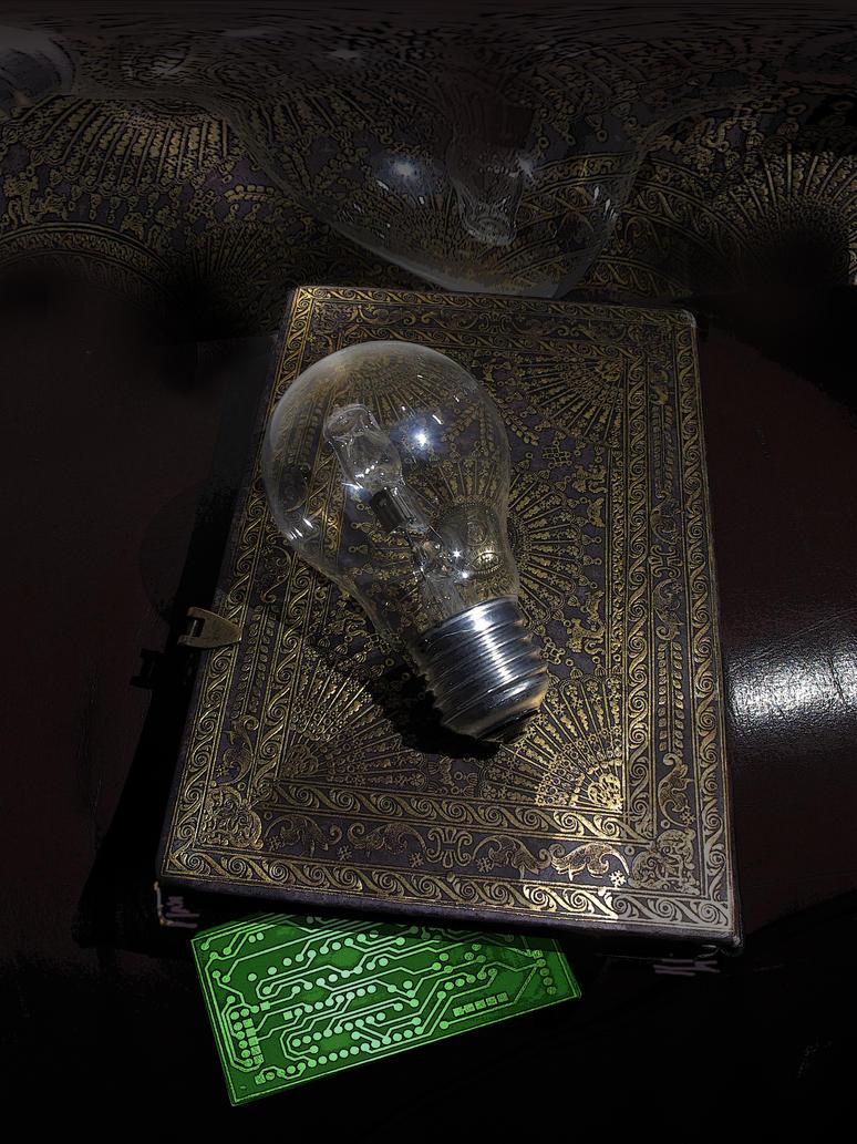 Edison's secret notebook by taisteng