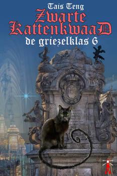 e-Cover for Zwartekattenkwaad, griezelklas 6