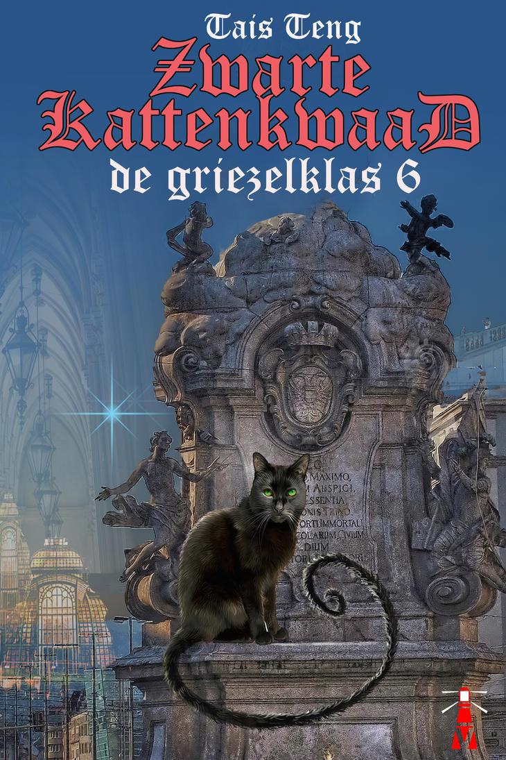 e-Cover for Zwartekattenkwaad, griezelklas 6 by taisteng