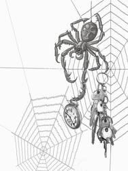 Gnar spider by taisteng