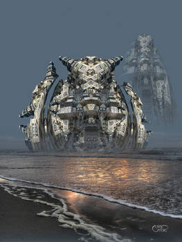 Ampridatvir, the Megapolis from Dying Earth