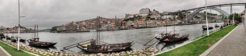 panorama Porto- Portugal by taisteng