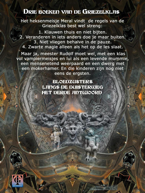 Back cover for DE GRIEZELKLAS OMNIBUS by taisteng