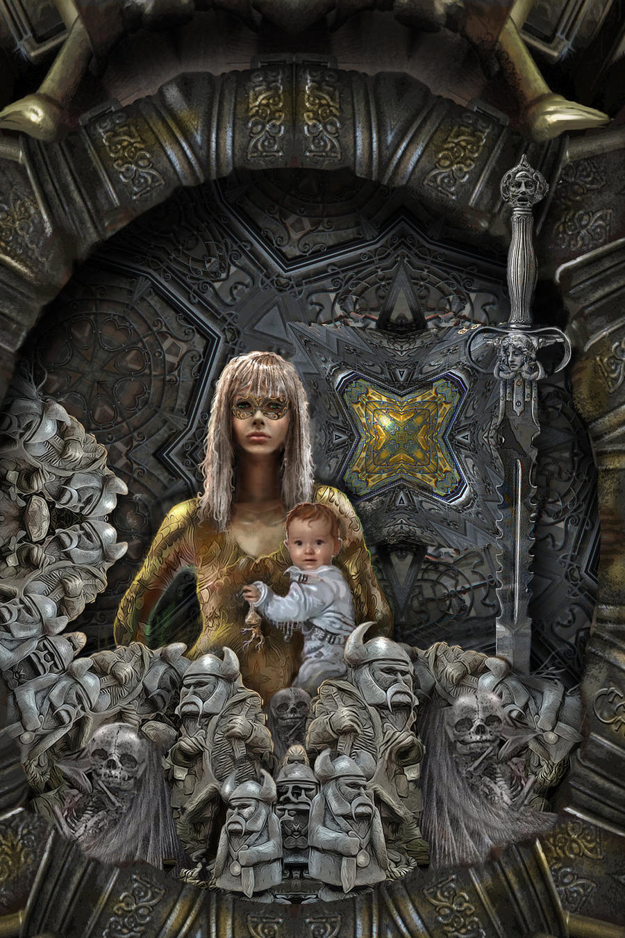 Vali-and-Vasilisa-in-The-Iron-Forest-DETAIL