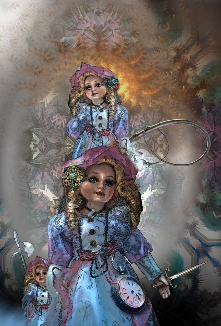Victorian fun, or dolls that walk at night by taisteng