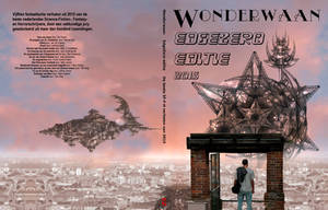Cover for Edge Zero, the best Dutch Sf of the year by taisteng