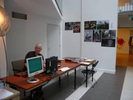 Artist in residence pop-up museum Smaak