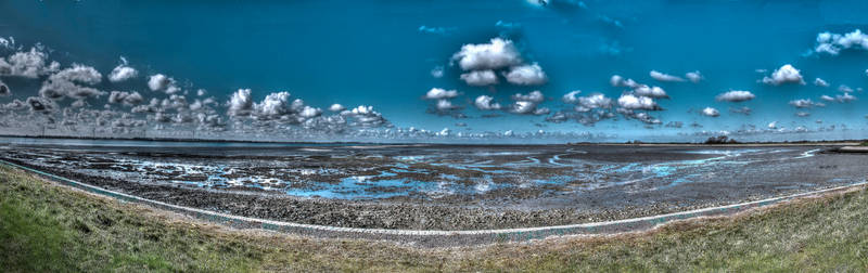 Panorama Terschelling The Netherlands
