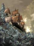 Copper Sails on Crystal Seas