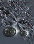 The ten mile long starship