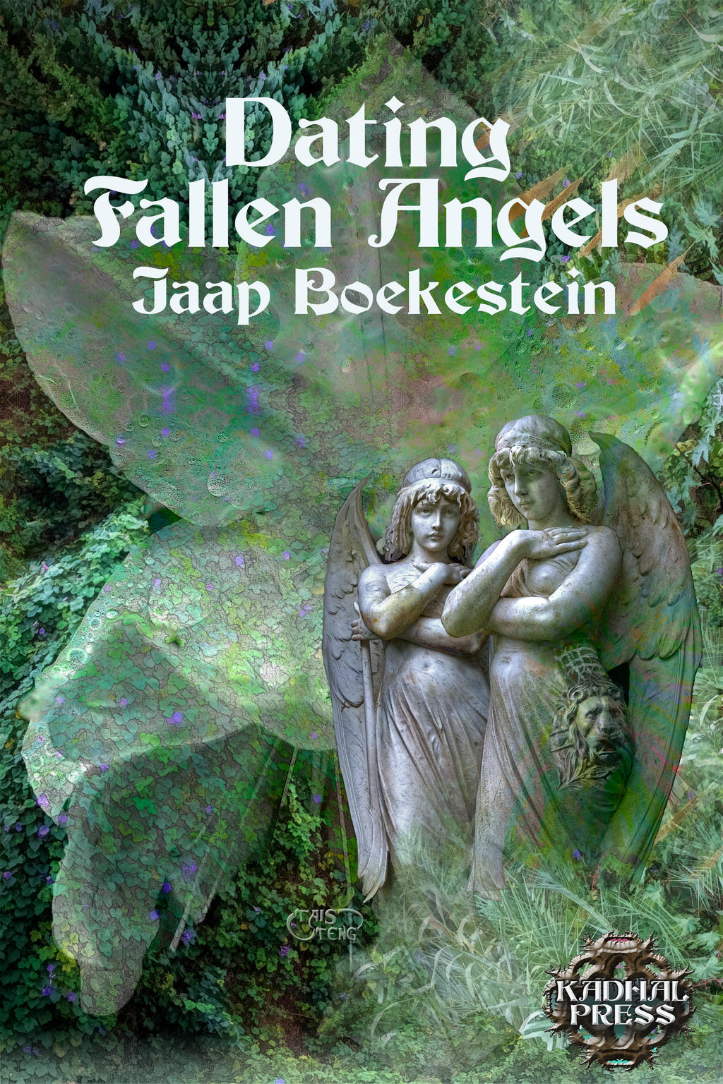 cover for DATING FALLEN ANGELS Jaap Boekestein by taisteng