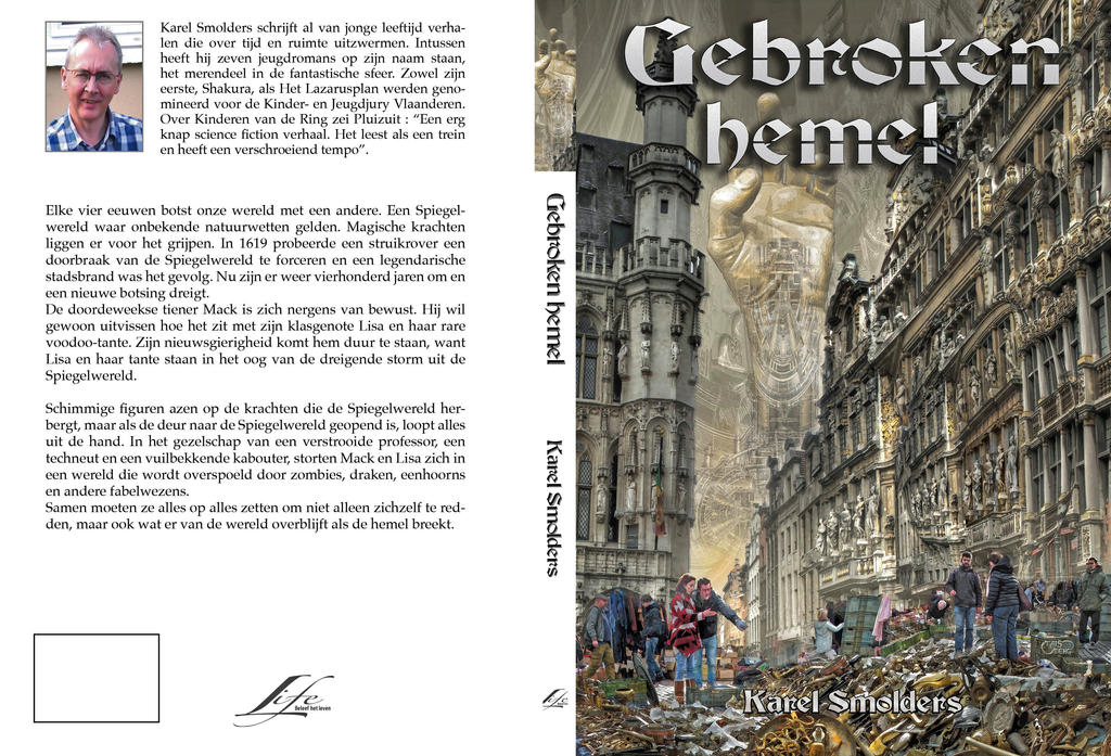 cover for GEBROKEN HEMEL by taisteng