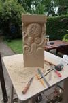 Pedestal with squid-1