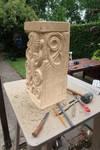 Pedestal with squid-3