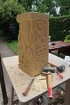 Pedestal with squid-4