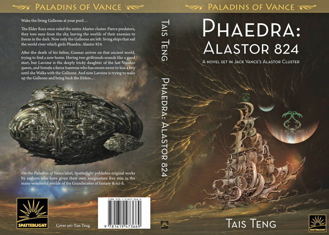 Cover for Phaedra-Alastor 824 by taisteng