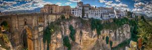 HDR panorama Ronda - Spain