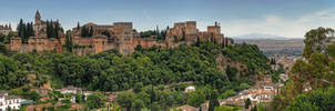 Alhambra, Spain by taisteng