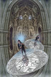 Cathedral-surfing, an illustrated story