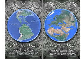 Wereldkaart Hogepriesteres van Aruc