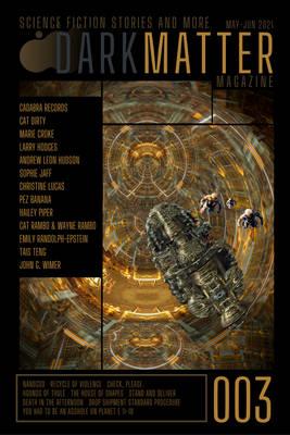 Cover for Dark Matter Magazine 003