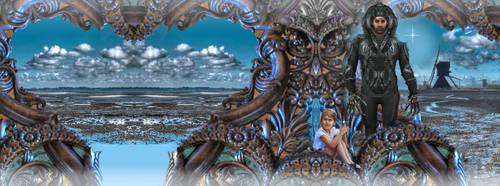 Facebook banner for Dutch Future Fiction