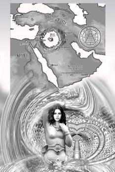 Kaart van de Cirkelzee