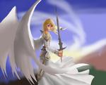 Emancipation Angel study by ThaliaRaven