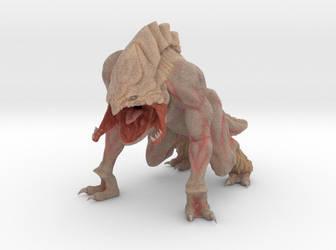 Davi Blight's King of Predators Print Figurine by harveyhesko